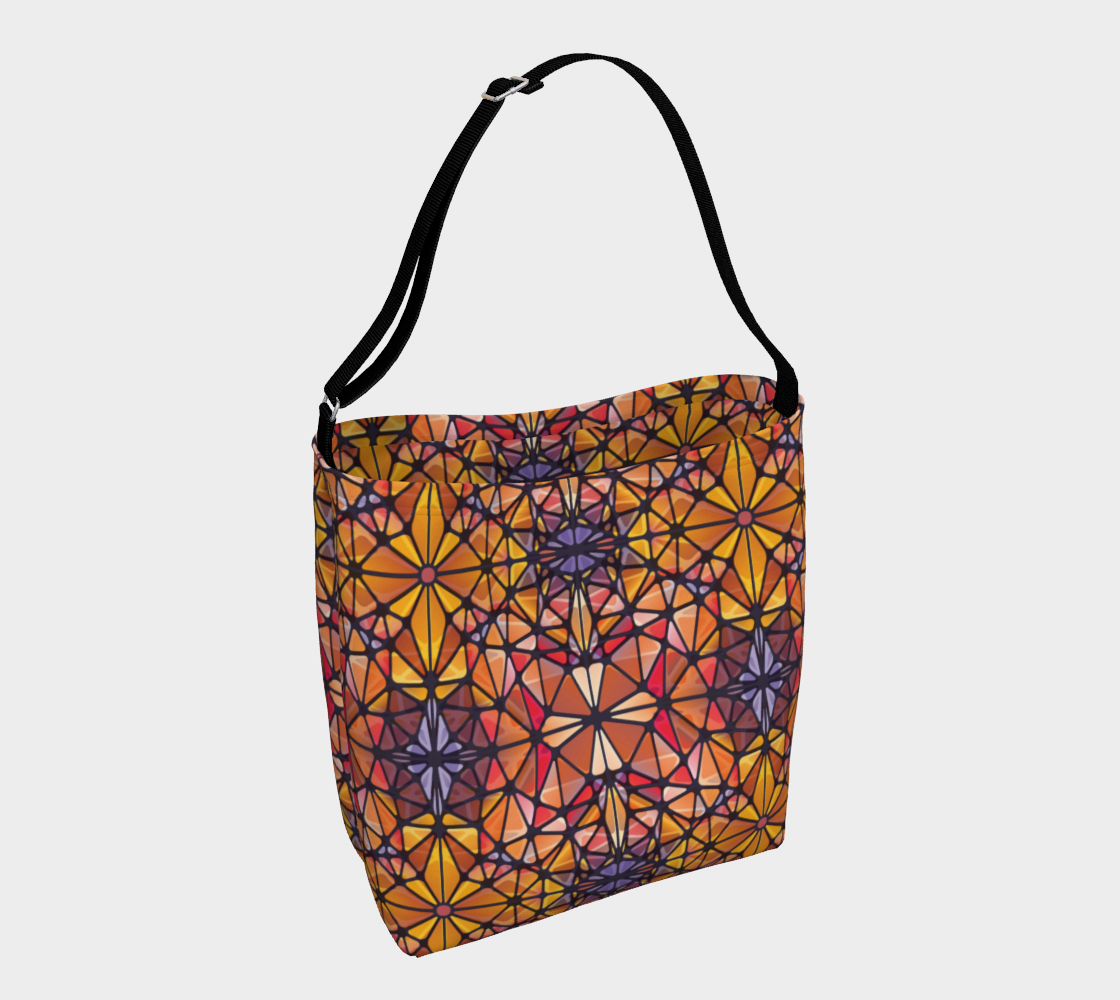 Amber Kaleidoscope Day Tote