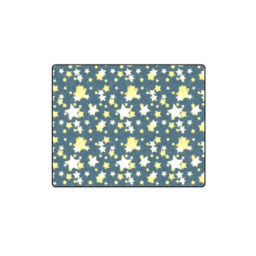 "Starry Night 1 Fleece Blanket 40""x 50"""
