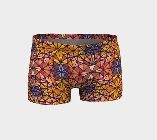 Amber Kaleidoscope Shorts