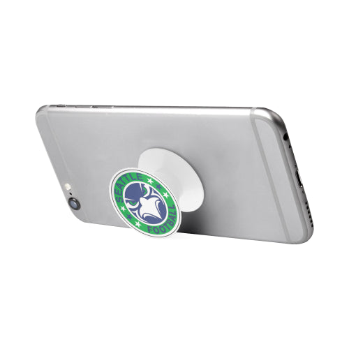 Seattle Seahawks Fan - Fan Badge - White Multi-function Cell Phone Stand