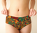 Abstract Safari Print Cheeky Briefs