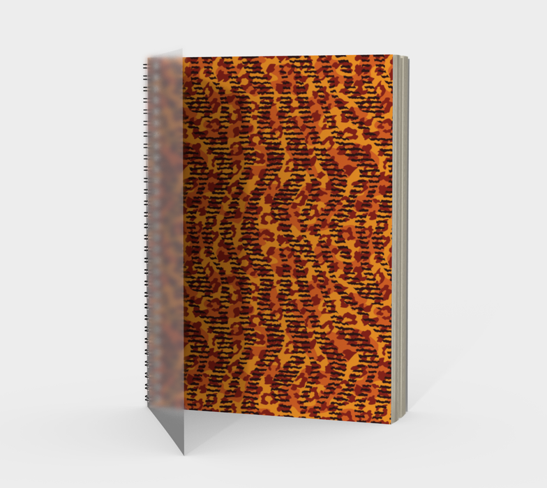 Animal Stripes and Spots Spiral Notebook