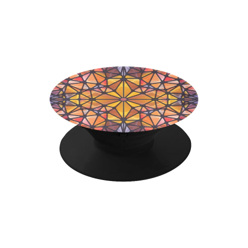 Amber Kaleidescope - Black Multi-function Cell Phone Stand