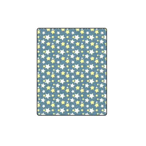 "Starry Night 2 Fleece Blanket 40""x 50"""