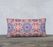 "Purple and Pink Kaleidoscope 24"" X 12"" Decorative Pillow Case"