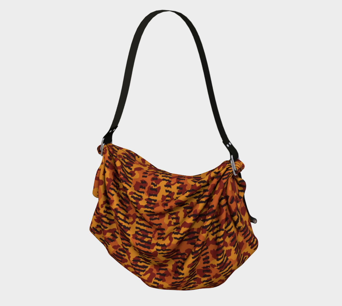 Animal Stripes and Spots Origami Tote