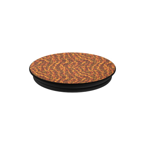 Animal Stripes and Spots - Black Multi-function Cell Phone Stand
