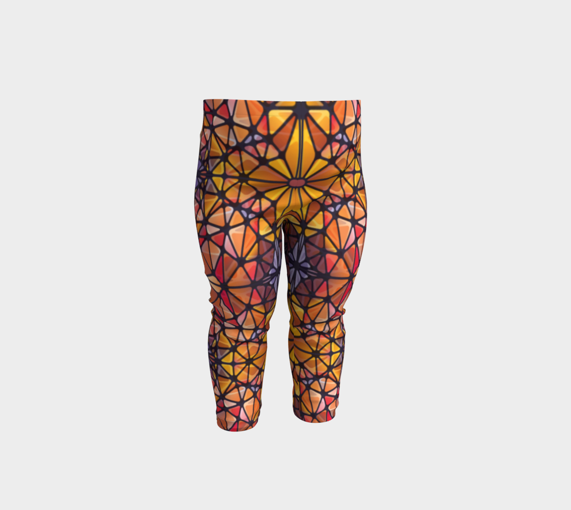 Amber Kaleidoscope Baby Leggings