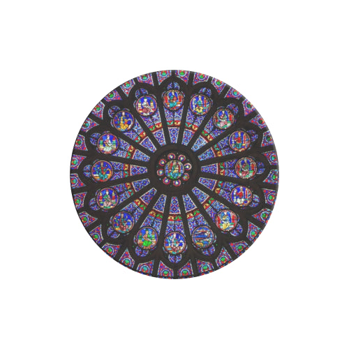 Rose South Window - Notre Dame - White Multi-function Cell Phone Stand