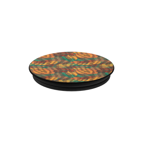 Abstract Animal Stripes - Black Multi-function Cell Phone Stand