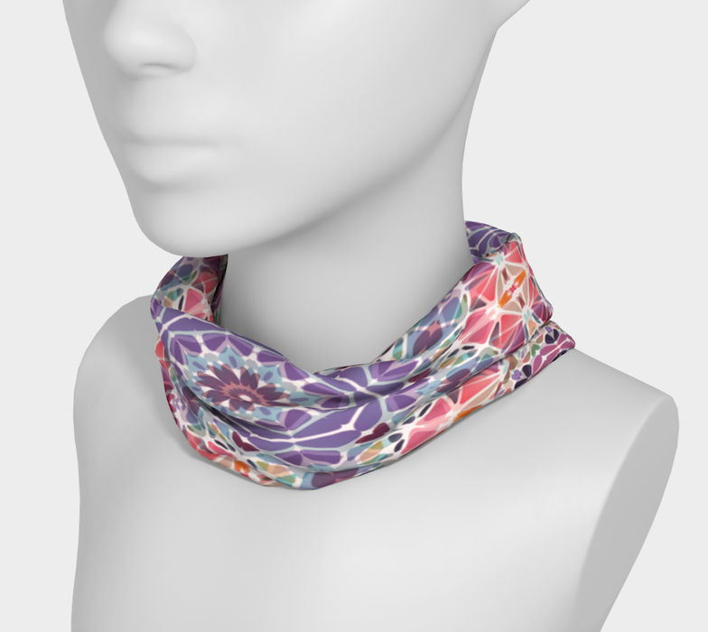 Purple and Pink Kaleidoscope Headband