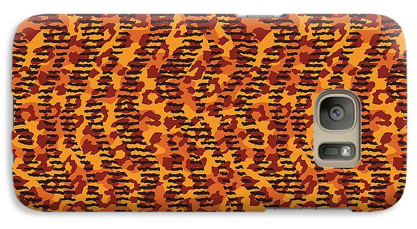 Abstract Animal Stripes And Spots Print - Phone Case