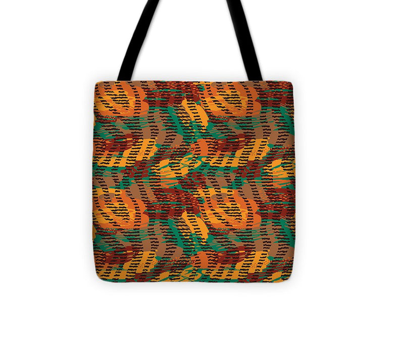 Abstract Animal Stripes - Tote Bag