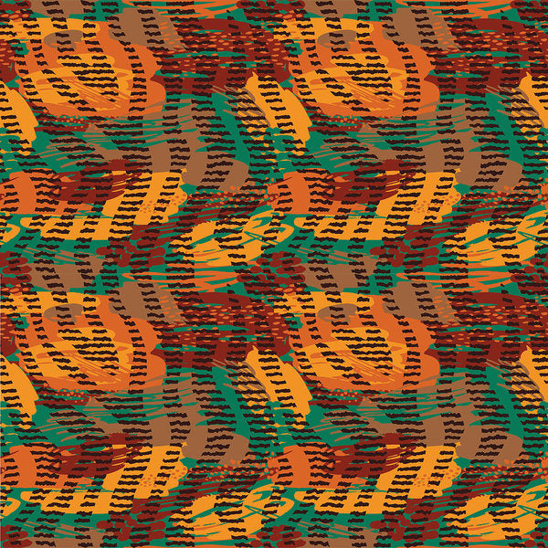 Abstract Animal Stripes - Art Print
