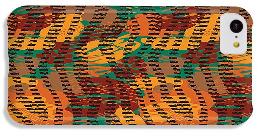 Abstract Animal Stripes - Phone Case