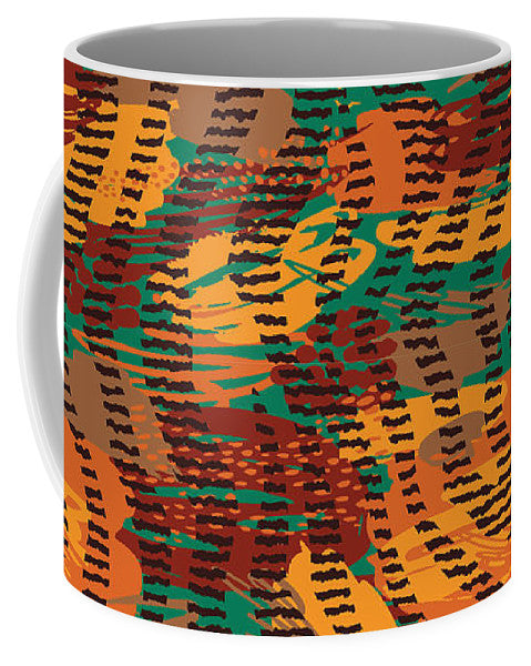 Abstract Animal Stripes - Mug