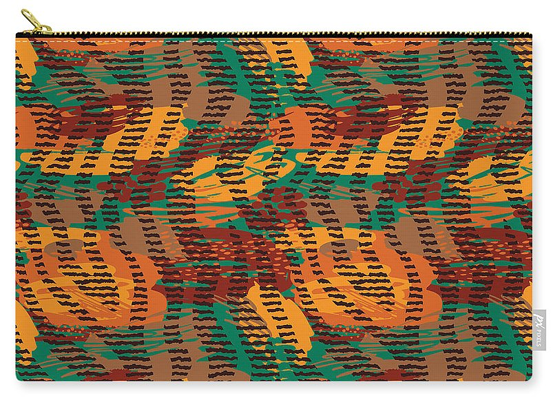 Abstract Animal Stripes - Carry-All Pouch
