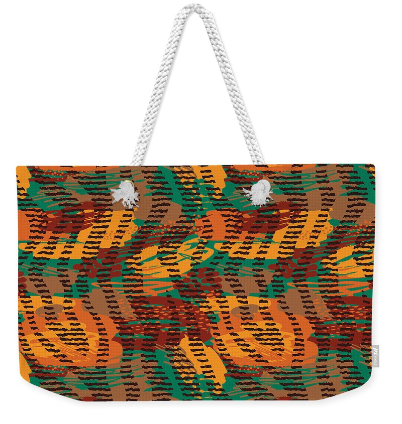 Abstract Animal Stripes - Weekender Tote Bag