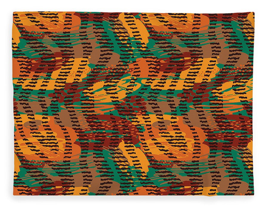 Abstract Animal Stripes - Blanket