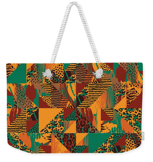 Abstract Safari Print - Weekender Tote Bag