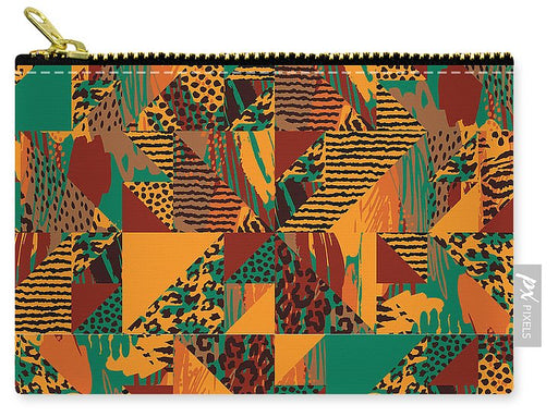 Abstract Safari Print - Carry-All Pouch