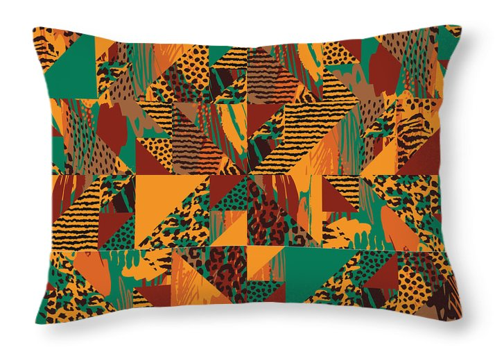 Abstract Safari Print - Throw Pillow