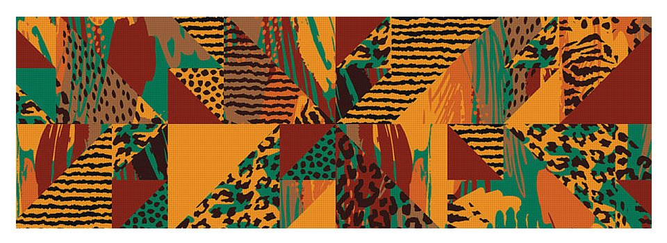 Abstract Safari Print - Yoga Mat