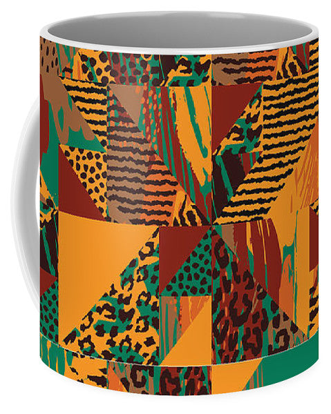 Abstract Safari Print - Mug