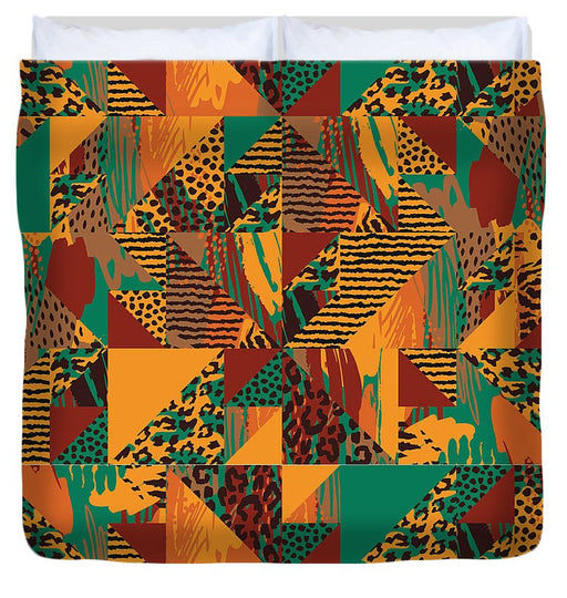 Abstract Safari Print - Duvet Cover