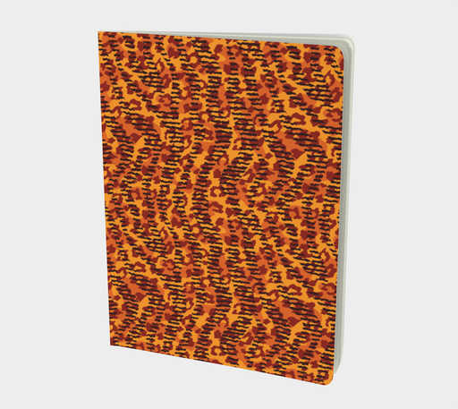 Animal Stripes and Spots Large Notebook