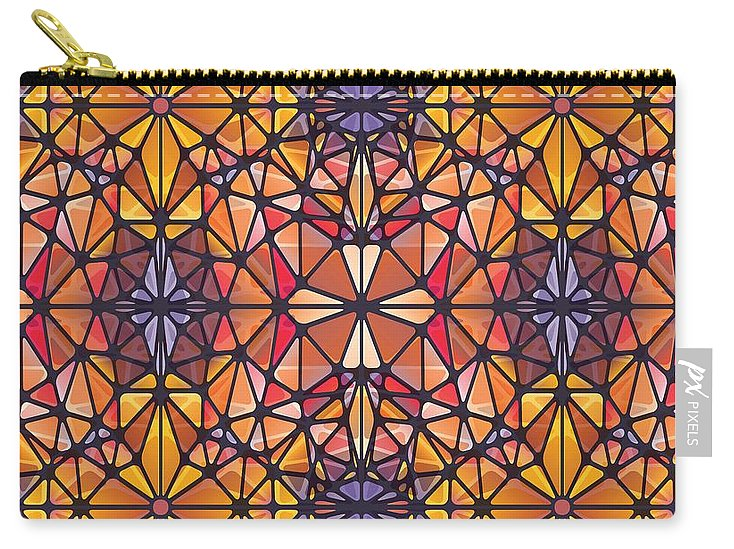 Amber Kaleidoscope - Carry-All Pouch