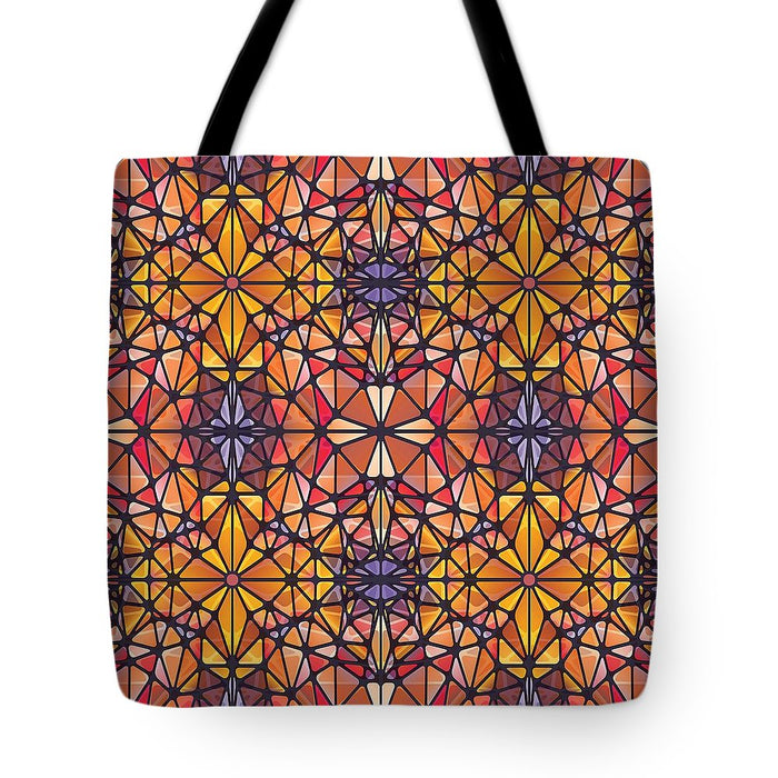 Amber Kaleidoscope - Tote Bag