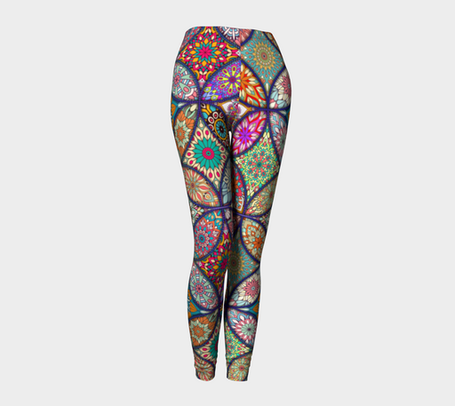 Vibrant Mandalas Leggings