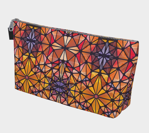 Amber Kaleidoscope Makeup Bag