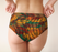 Abstract Animal Stripes Cheeky Briefs