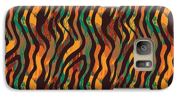 Colorful Animal Stripe Print - Phone Case