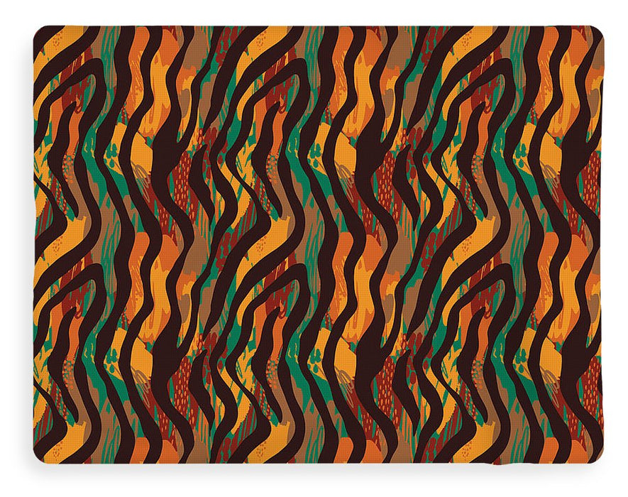 Colorful Animal Stripe Print - Blanket