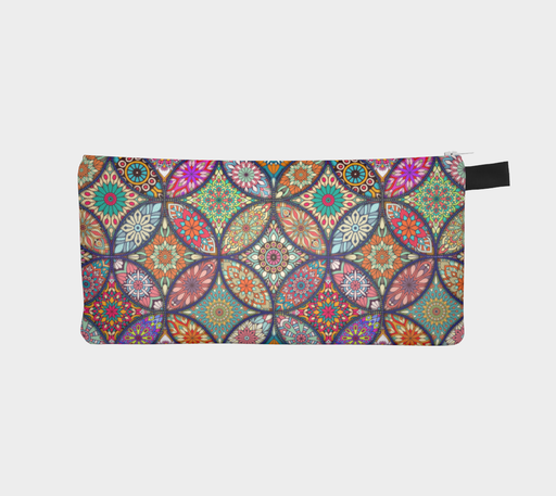 Vibrant Mandalas Pencil Case