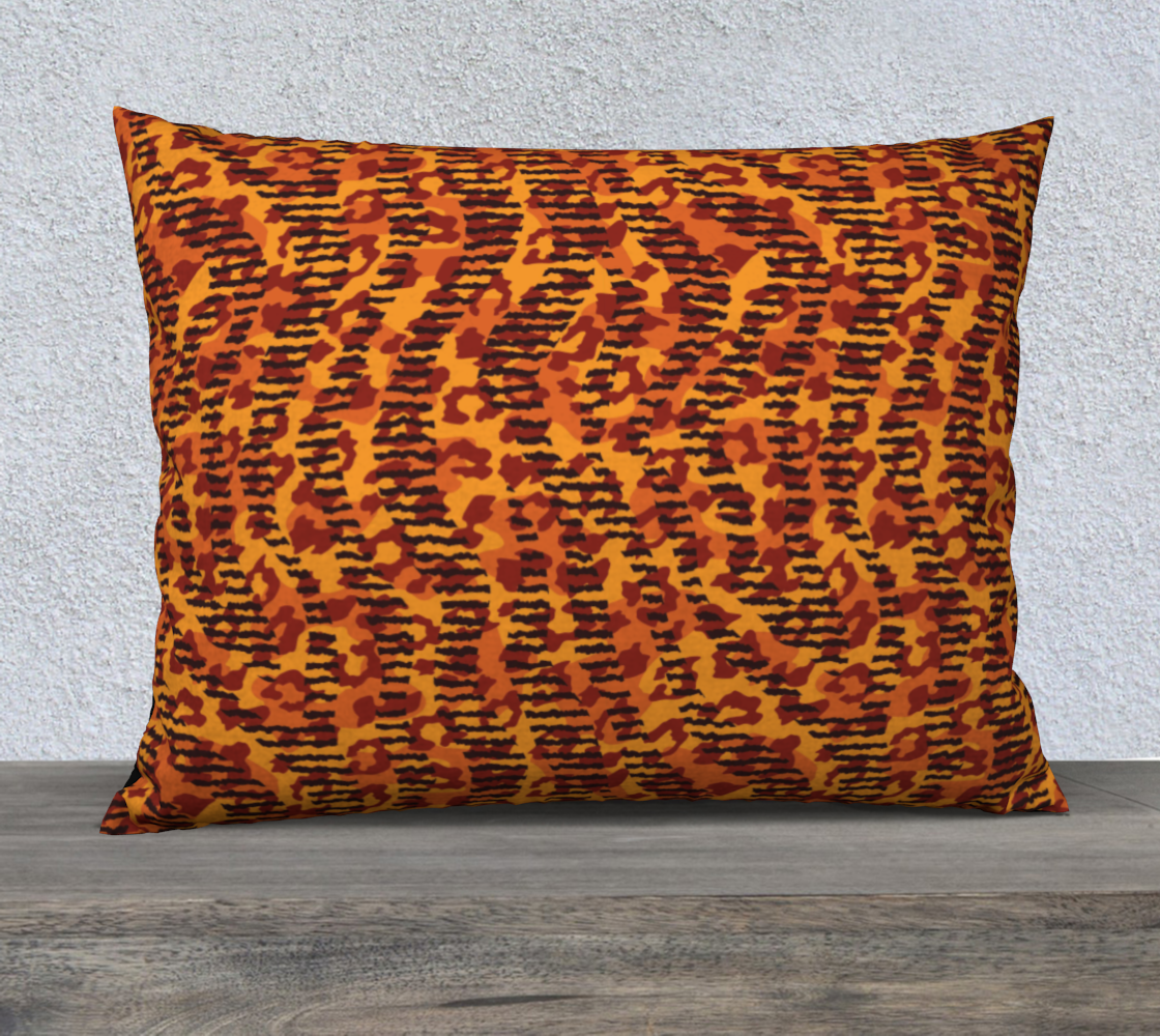 "Animal Stripes and Spots 26"" x 20"" Decorative Pillow Case"