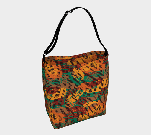 Abstract Animal Stripes Day Tote