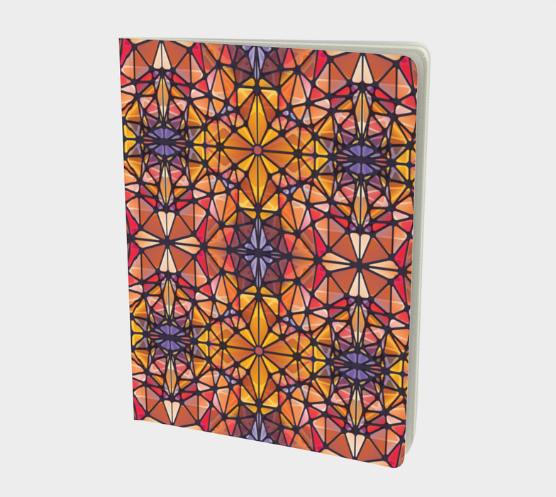 Amber Kaleidoscope Notebook