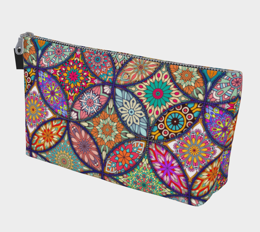 Vibrant Mandalas Makeup Bag