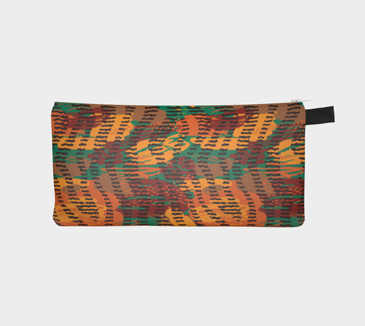 Abstract Animal Stripes Pencil Case