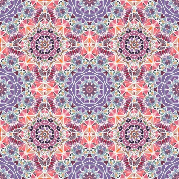 Purple And Pink Kaleidoscope - Art Print