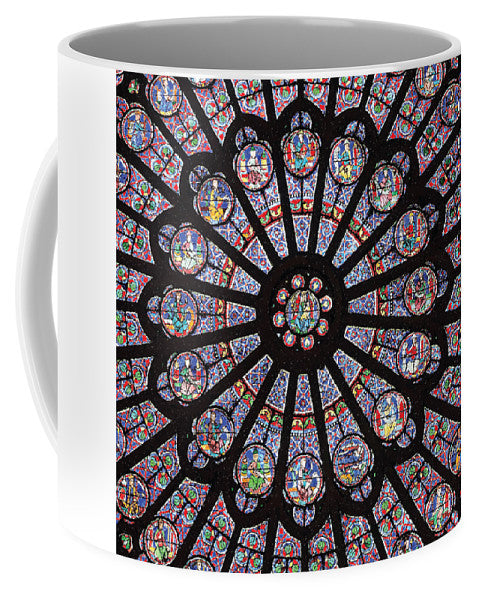 Rose South Window, Notre Dame Paris - Mug