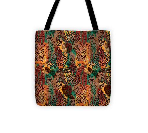Safari Animal Print Mashup - Tote Bag