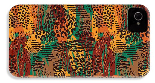 Safari Animal Print Mashup - Phone Case