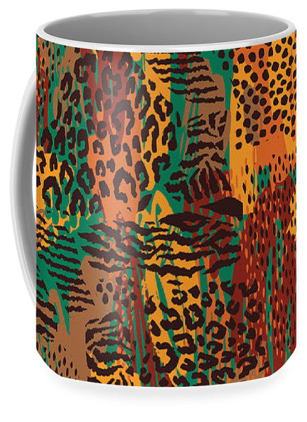 Safari Animal Print Mashup - Mug