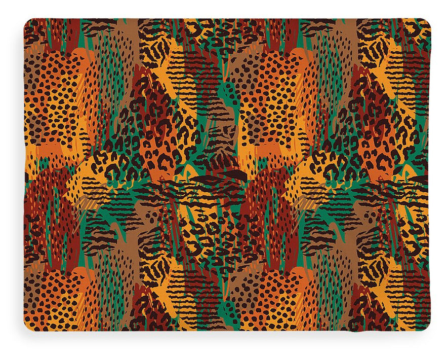 Safari Animal Print Mashup - Blanket