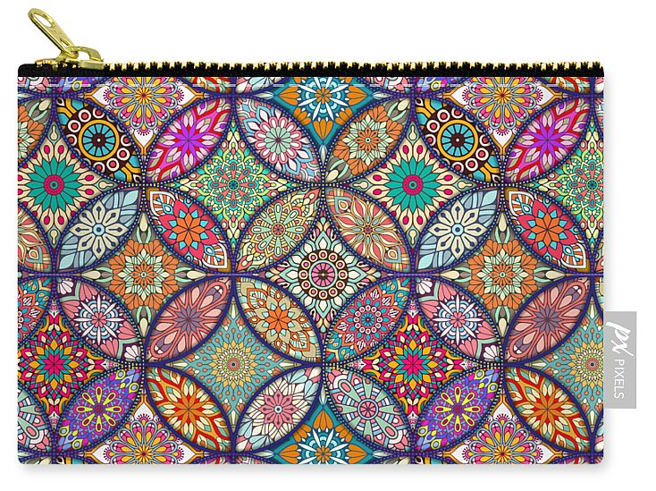 Vibrant Mandalas - Carry-All Pouch